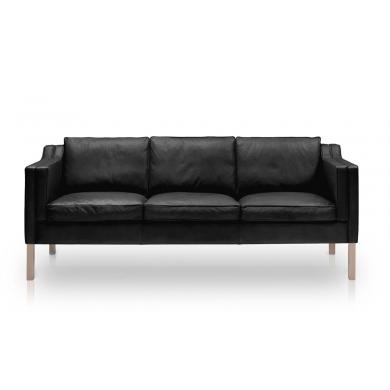 Stouby   Eva sofa - læder   Bolighuset Werenberg