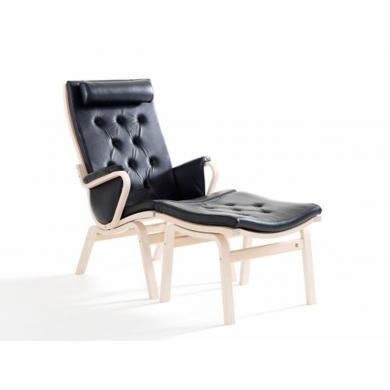 Stouby Albert De Luxe lænestol i læder - Bolighuset Werenberg