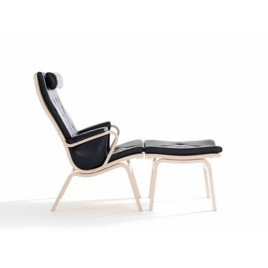Stouby Albert De Luxe lænestol i læder