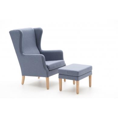 Nielaus Jade lænestol | Læder eller stof