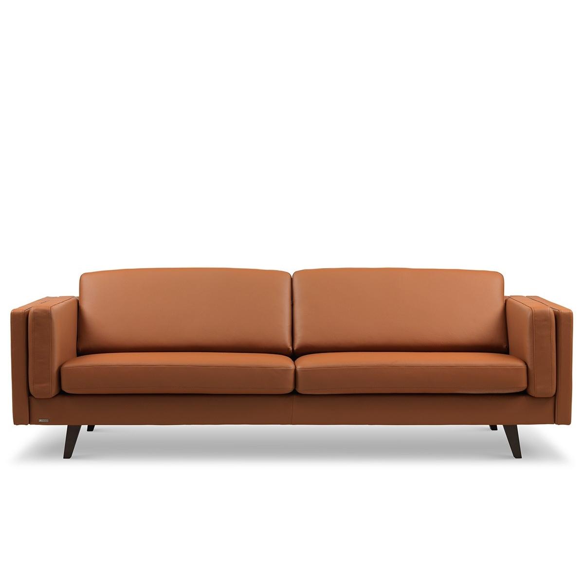 Brunstad Weston sofa 2,5 personers Cognac