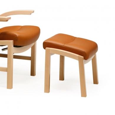 Farstrup Cantate 2 hvilestol | Stof & læder