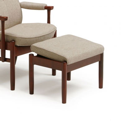 Farstrup Casa hvilestol | Stof & læder