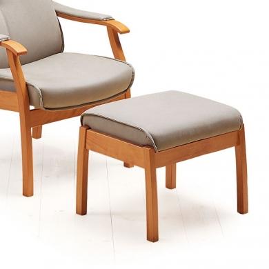 Farstrup Duet hvilestol | Stof & læder
