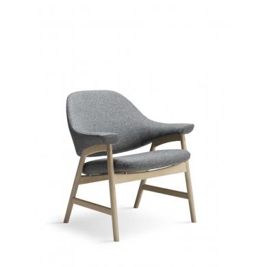 Brunstad Bris lænestol | Læder eller stof