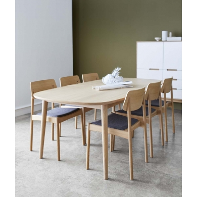 PBJ Bow spisebord | Flere træsorter