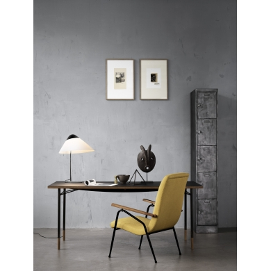 Wegner Opala Mini Bordlampe Hvid