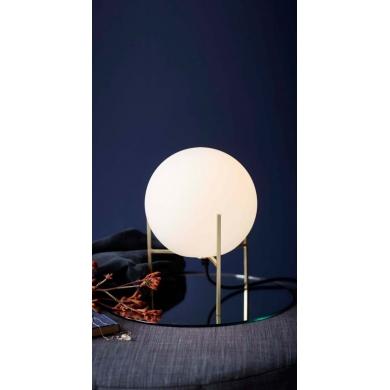 Nordlux Alton Bordlampe 3m. hvid stofledning  | Bolighuset Werenberg
