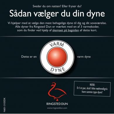 Ringsted Dun - Klodshans - Varm dyne - Bolighuset Werenberg