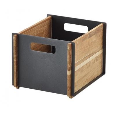 Cane-line Box opbevaringskasse teak/alu | Bolighuset Werenberg