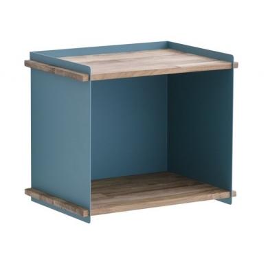 Cane-line Box Wall opbevaringskasse teak/alu. | Bolighuset Werenberg