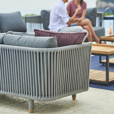Cane-line | Moments 2 pers. sofa, venstremodul - Bolighuset Werenberg