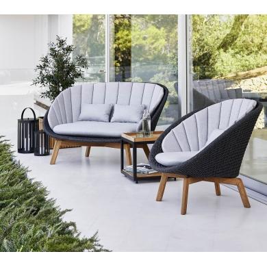 Cane-line Peacock Rope lounge sofa | Bolighuset Werenberg
