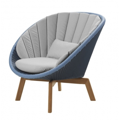 Cane-line Peacock lounge stol