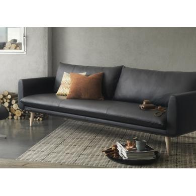 Brunstad Everest sofa i læder |  Bolighuset Werenberg
