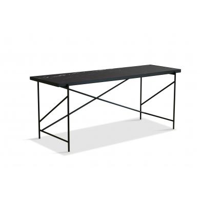 Handvärk skrivebord | Sort marmor