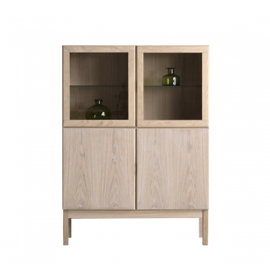 KLIM FURNITURE  Highboard - Eg hvidolie - Bolighuset Werenberg