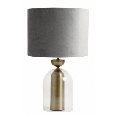Nordal bordlampe   Grå - Bolighuset Werenberg