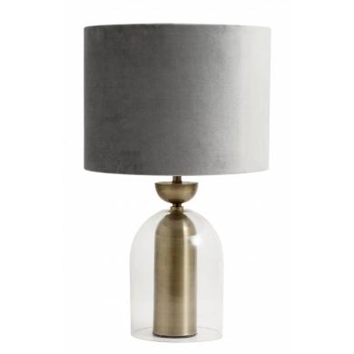 Nordal bordlampe | Grå - Bolighuset Werenberg
