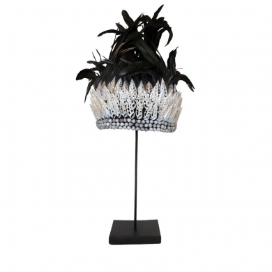 Byliving | Black Feather Crown - Bolighuset Werenberg