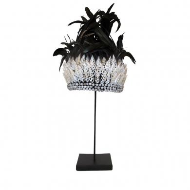 Byliving   Black Feather Crown - Bolighuset Werenberg