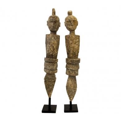 Byliving   Timor Wood Statue - Bolighuset Werenberg