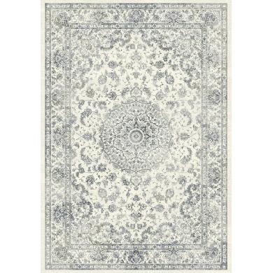 Kreatex tæppe | Vintage - Ivory Blue - Bolighuset Werenberg