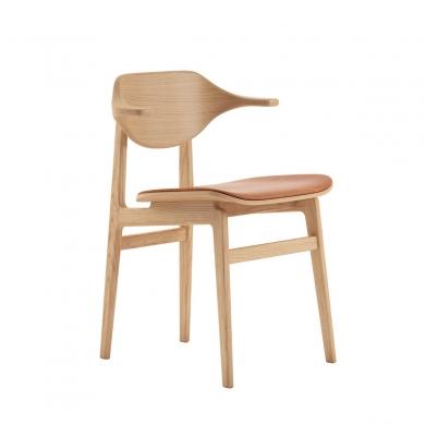 NORR11   Buffalo Dining Chair - Læder   Bolighuset Werenberg