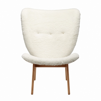NORR11   Elephant Chair - Lammeskind   Bolighuset Werenberg