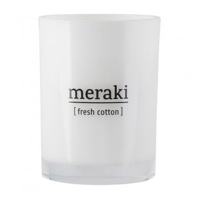 Meraki  Duftlys Fresh cotton