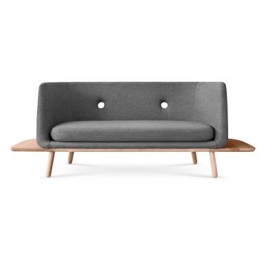 Eva Solo | Phantom 2 pers. sofa med bord - Bolighuset Werenberg