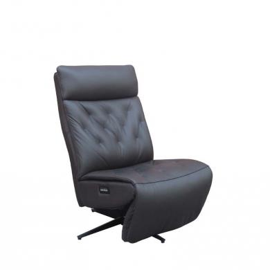 Lexpo | Hill lænestol i læder med 2 motorer - Bolighuset Werenberg