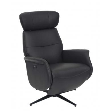 Lexpo | Alex lænestol i læder med 2 motorer - Bolighuset Werenberg