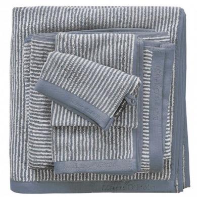 Marc O'Polo - Håndklæder stripe/smoke