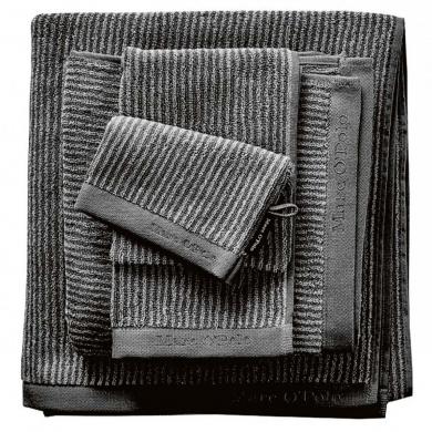 Marc O'Polo - Håndklæder stripe/silver - bolighuset Werenberg