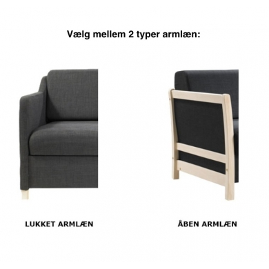 Kragelund Furniture - 750 sovesofa