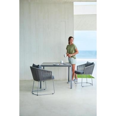 Cane-line | Pure havebord, 100x100 - Bolighuset Werenberg