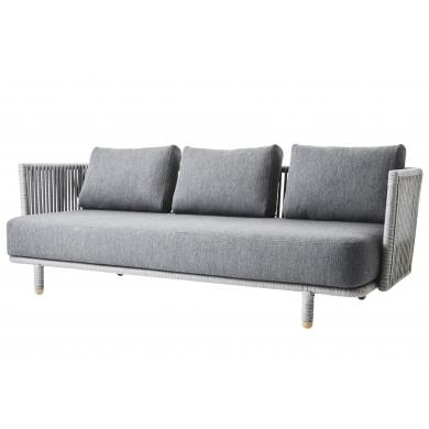 Cane-line | Moments 3-pers. sofa - Bolighuset Werenberg