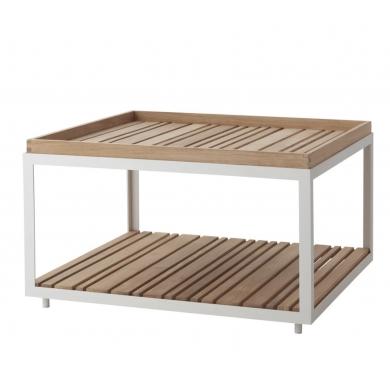 Cane-line | Level havebord m. teaktop | Bolighuset Werenberg
