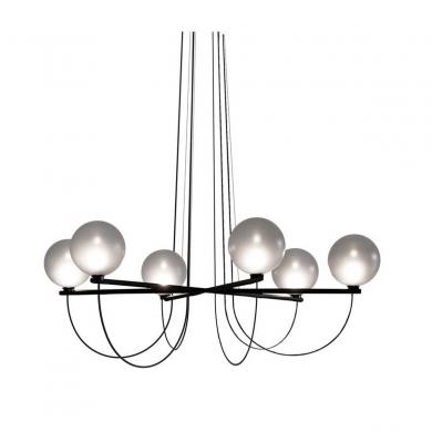 Handvärk lysekrone - Globe | Bolighuset Werenberg