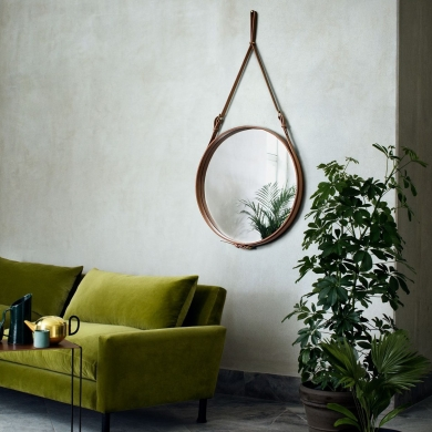 GUBI | Adnet Wall Mirror - Circular | Bolighuset Werenberg