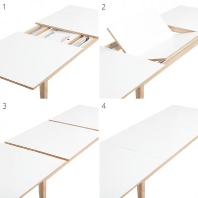 Andersen | T3 Spisebord m. udtræk - Bolighuset Werenberg
