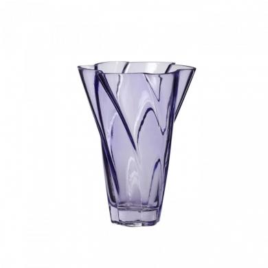 Hübsch   Vase - glas lilla - Bolighuset Werenberg