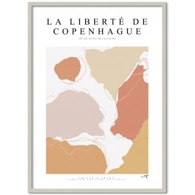 Poster & Frame   La Liberté De Copenhague - Bolighuset Werenberg