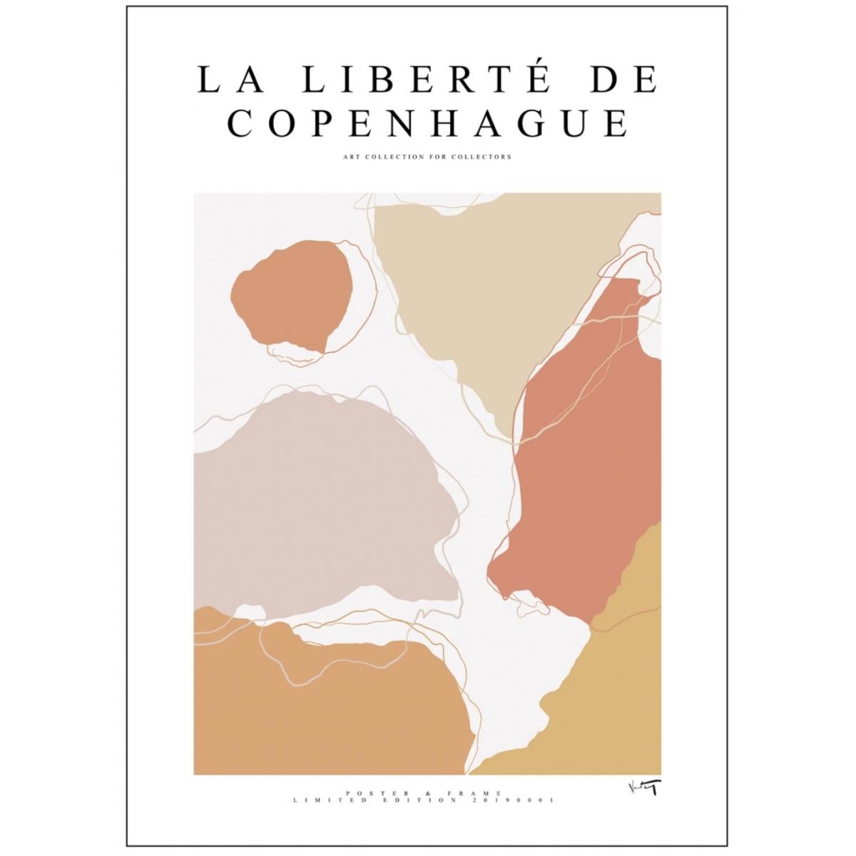 Poster & Frame | La Liberté De Copenhague - 001 - Bolighuset Werenberg