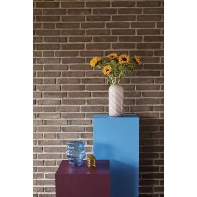 Hübsch | Vasesæt - Hvid/lyserød | Bolighuset Werenberg