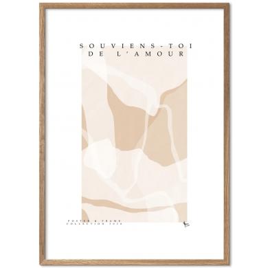 Poster & Frame   Souviens Toi De L'amour- Bolighuset Werenberg
