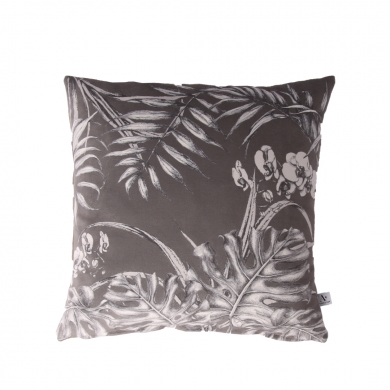 AU Maison | Orchid Jungle pude - Steel Grey | Bolighuset Werenberg