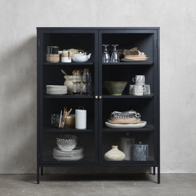 Unique Furniture | Carmel vitrineskab - H140 | Bolighuset Werenberg