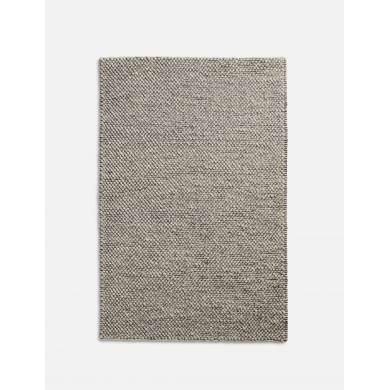 WOUD | Tact tæppe - Mørkegrå - Bolighuset Werenberg
